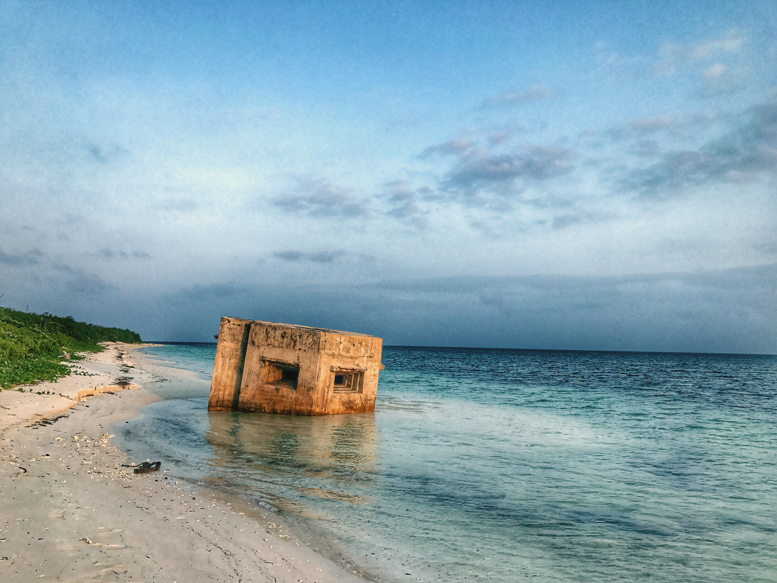 Photograph by Shashank Keshavmurthy - Beach on Dongsha Atoll